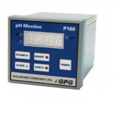 P160 ipari pH ellenőrző rendszer pH elektródával