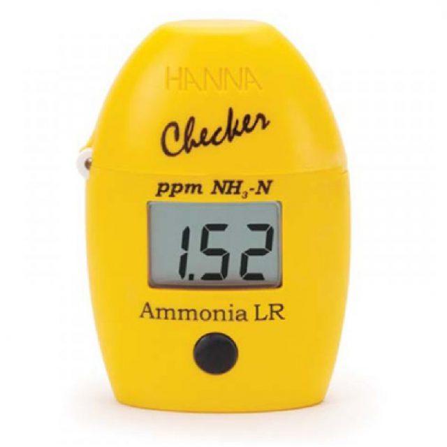 HI700 – Kézi fotométer ammónia koncentrációjának méréséhez