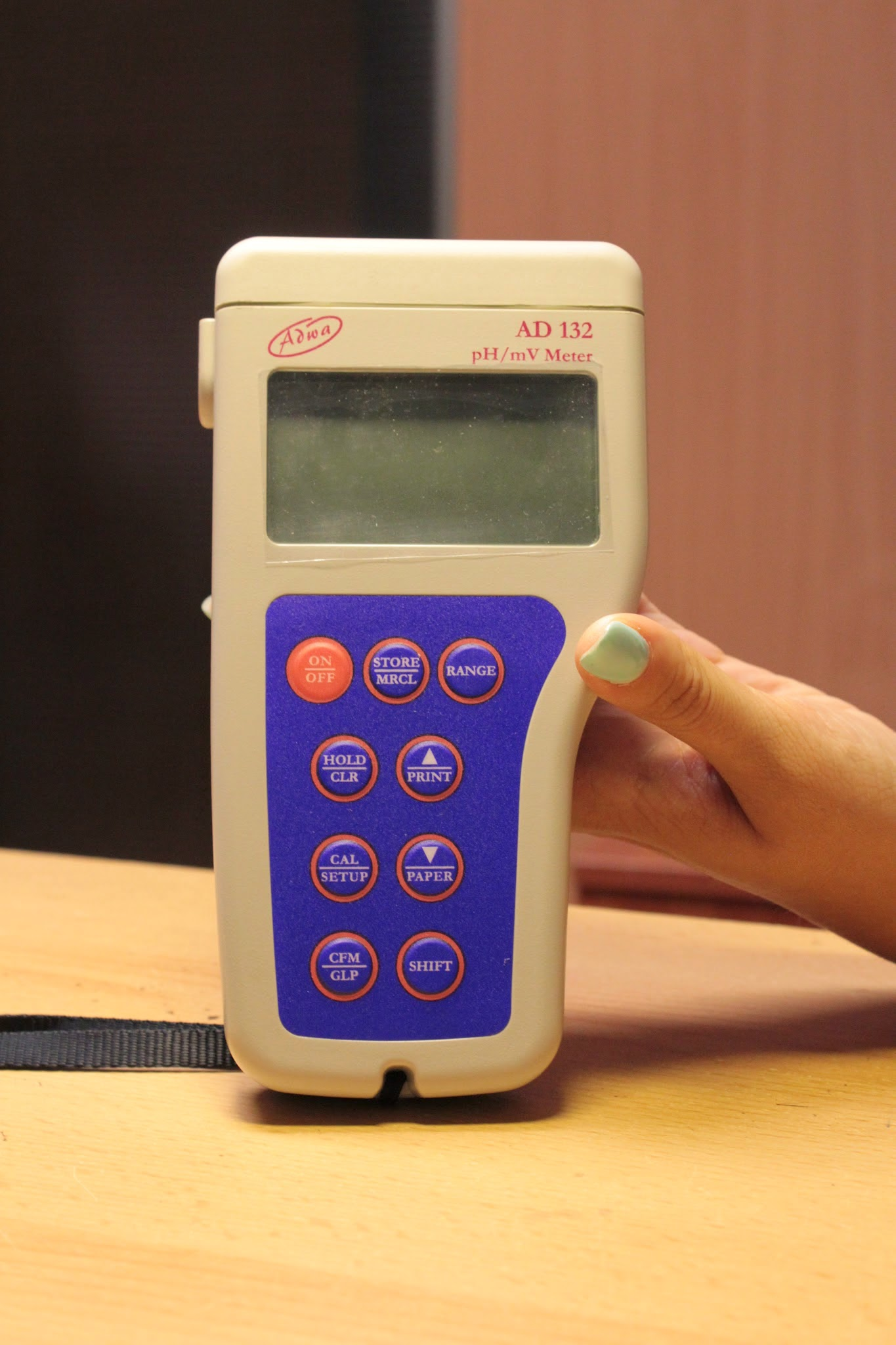 ADWA AD-132 pH/ORP/Temp mérő
