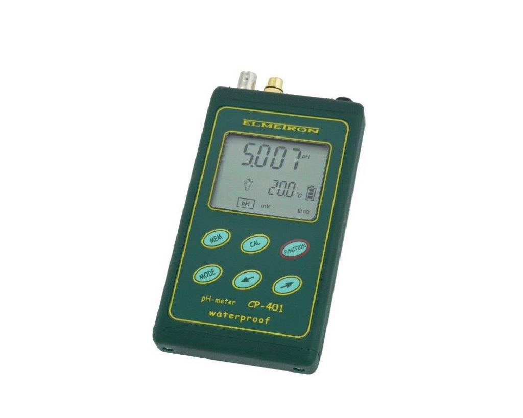 Professzionális pH mérő CP-401+ pH elektróda