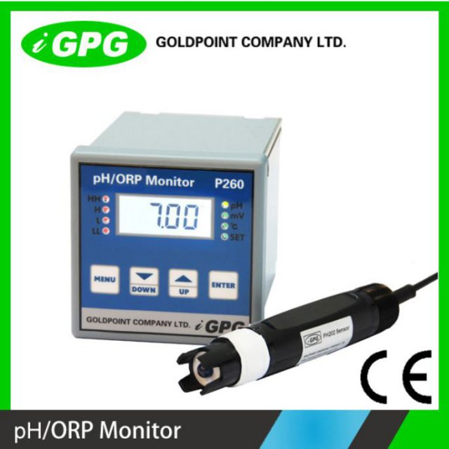 P260 ipari pH mérő