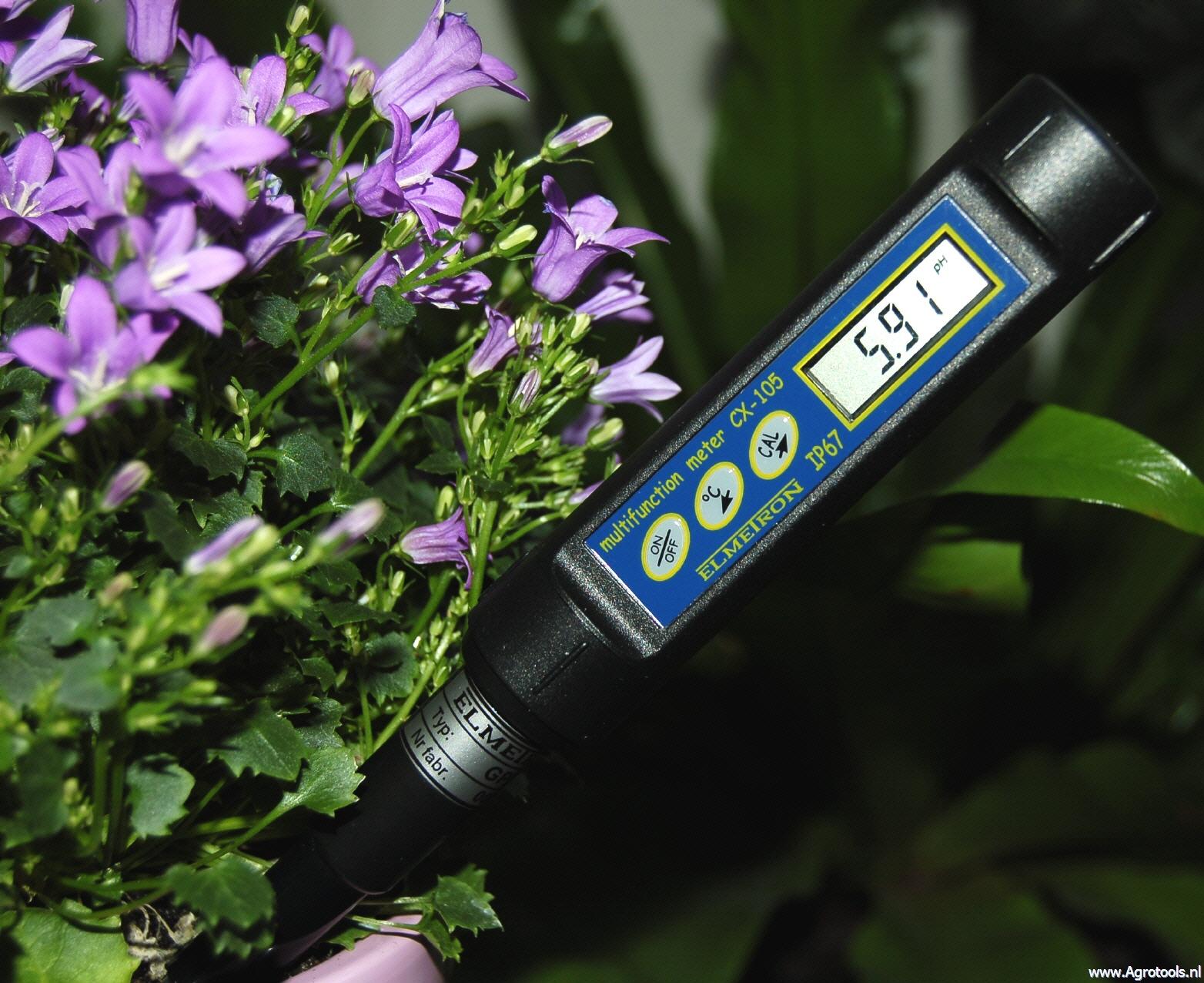 CP-105X hordozható pH mérő szúró elektródával