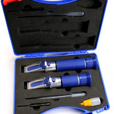 Pálinka mesterkészlet : RHW-25 és RHW-80 refraktométerek + kézikönyv