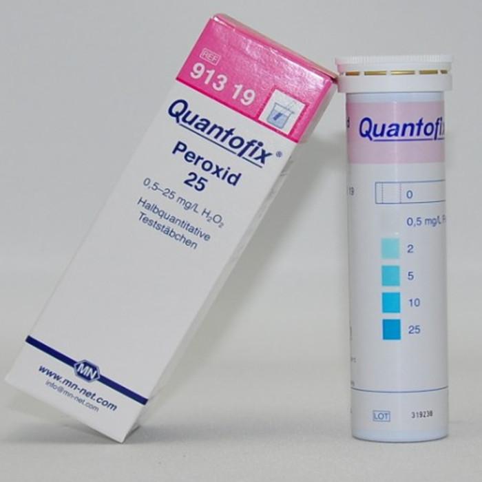 Peroxid tesztcsík - peroxid gyors meghatározására ivóvízben, élelmiszerekben.